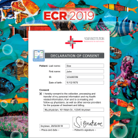 aycan consent at ECR 2019